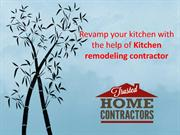 Revamp your kitchen with the help of Kitchen remodeling contractor