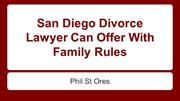 Phil St Ores Divorce Lawyer