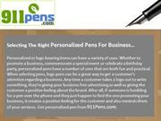 USA made Business Personalized Pens