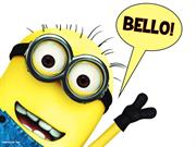 Wishin u One-In-A-Minion New Year!