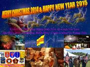 Merry Christmas 2014 & Happy New Year 2015 - NTB