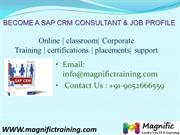 SAP CRM ONLINE TRAINING IN SOUTH AFRICA