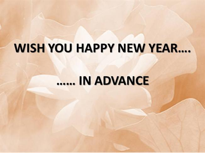 wish you happy new year in advance authorstream