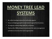 Money Tree Lead Systems | Real Estate CRM Software
