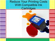 Reduce Your Printing Costs With Compatible Ink Cartridges