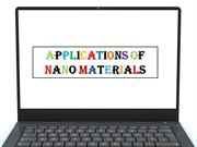Applications of nanomaterials