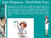 Joan Dispenza - Hard Work Pays