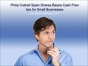 Philip Cottrell Spain Shares Basics Cash Flow tips for Small Businesse