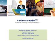 Automating Field Service Management