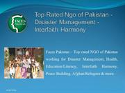 Faces Pakistan - Top Rated Ngo of Pakistan