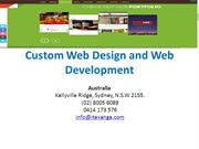 Custom Web Design and Web Development