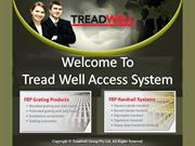 FRP structures, unistrut, Walkways, Handrail, Grating from Treadwell