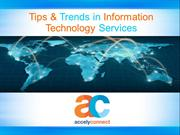 Information Technology Services Trends in 2015