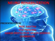 NEURO REHABILITATION --GIHS