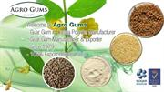 Food Grade Guar Gum Powder & Industrial Application