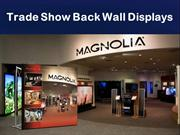 Trade Show Back Wall Displays