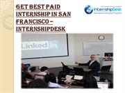 Discover Paid Internship in San Francisco, CA – Internship Desk