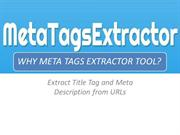 Free Meta Tags Extractor