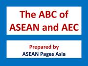 The ABC of ASEAN and AEC