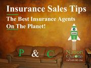 P & C Insurance Sales Tips