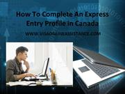 Express Entry Profile in Canada