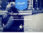 Here's How You Can Create More Companionship in Your Marriage