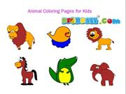 Animal Coloring Pages for Kids - Bforball