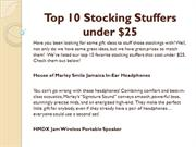 Top 10 Stocking Stuffers under $25