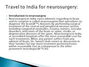 Travel to India for neurosurgery