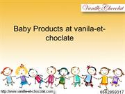 Best baby products at Vanille et Chocolat