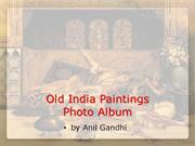 Old India Paintings