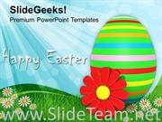 HAPPY EASTER DAY FESTIVAL POWERPOINT TEMPLATE