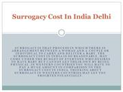 Surrogacy Cost In India Delhi