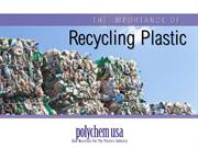 The Importance of Recycling Plastic
