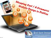 Shopping Cart  E-Commerce Website Design in Dallas Texas