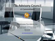 The Advisory Council & Committees