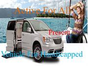 Vehicles for Handicapped from Active for All
