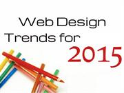 10 Popular trends of Web design to Start Using in 2015