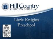 Discover the Little Knights Preschool 2015