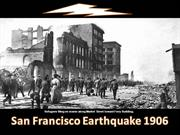 HISTORY IN PHOTOGRAPHS (San Francisco Earthquake 1906)
