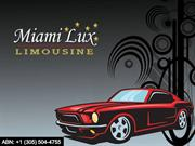 Miami Airport Transportation - A Choice between Taxi and Limo by Miami