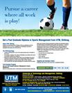 Sports Management Admission 2015 - UTM