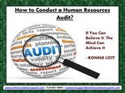 How To Conduct a Human Resources Audit
