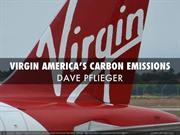 Dave Pflieger - Virgin America's Carbon Emissions