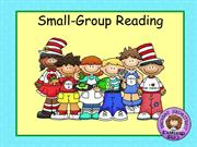 Small Group Reading for WEB part I