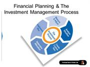 Financial Planning & The Investment Management Process