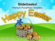 WISHES OF HAPPY EASTER FOR EVERYONE POWERPOINT TEMPLATE