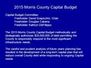 2015 Capital Budget Highlights