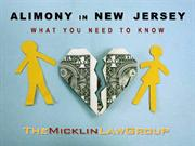 Alimony in New Jersey: What you Need to Know