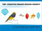 TBP Creative Branding Agency: Graphic Design & Brand Design Experts